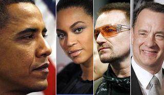 Obama inaug celebs